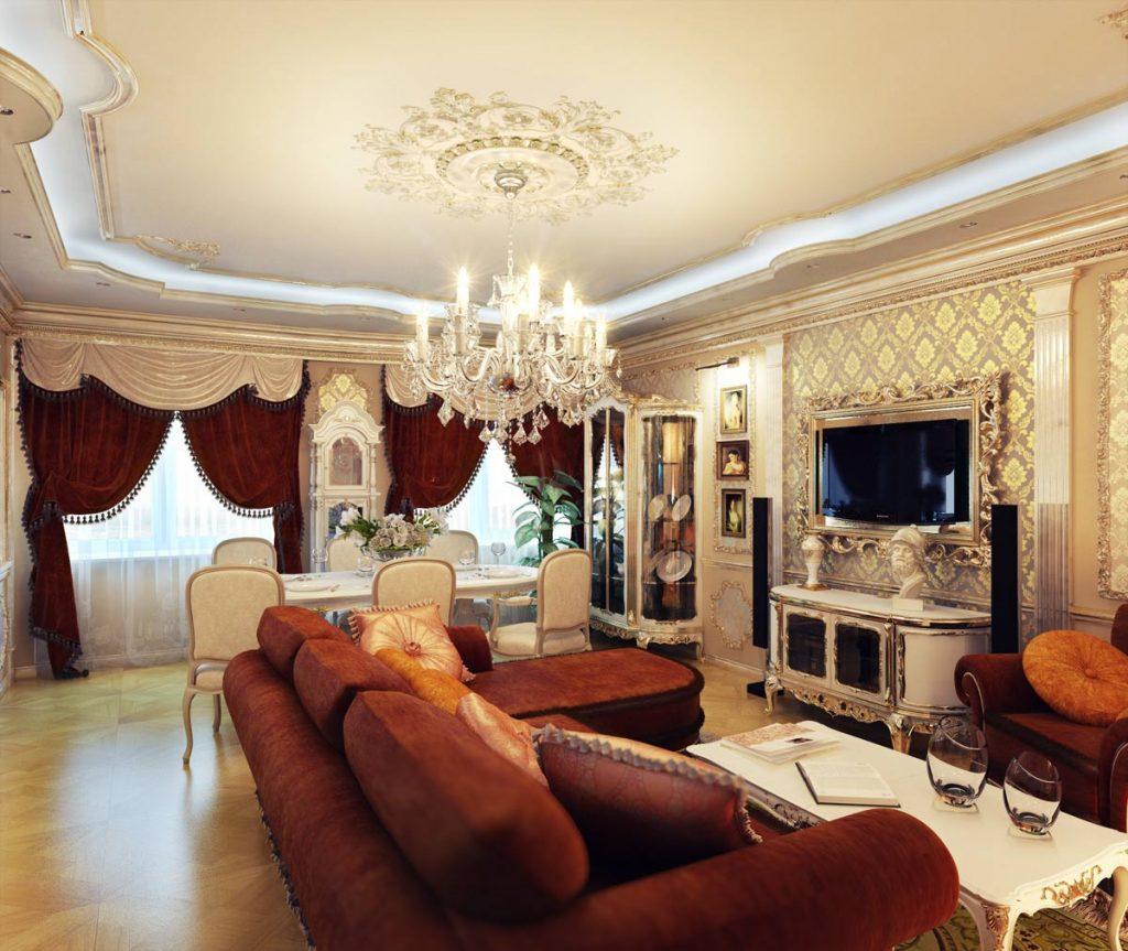 Đặc trưng của nội thất thiết kế theo phong cách cổ điển