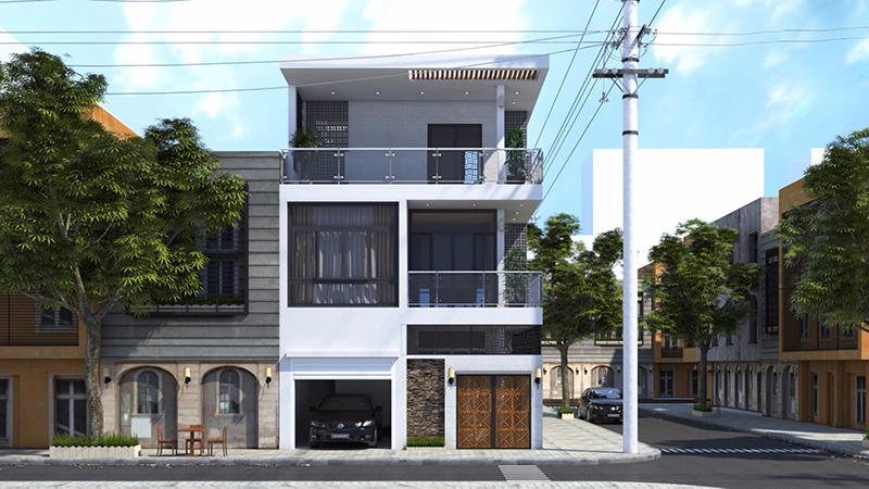 Mặt tiền là một trong những yếu tố quyết định một căn nhà đẹp