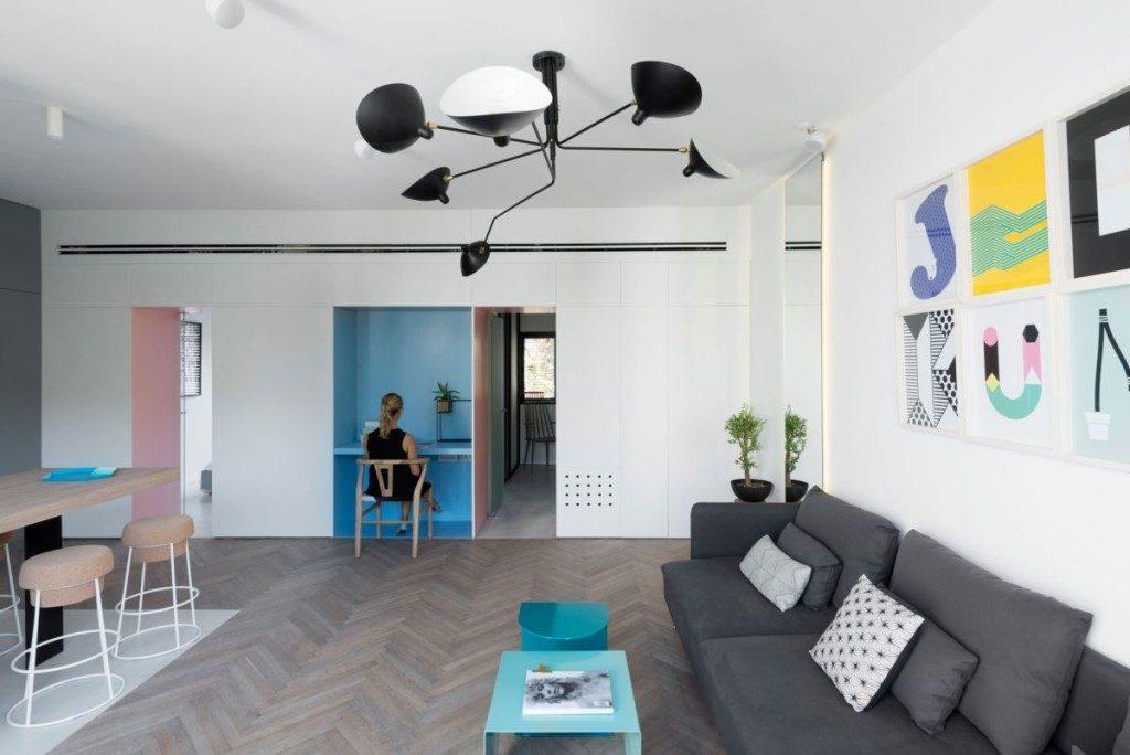 Thiết kế nội thất hợp lý cho một ngôi nhà nhỏ