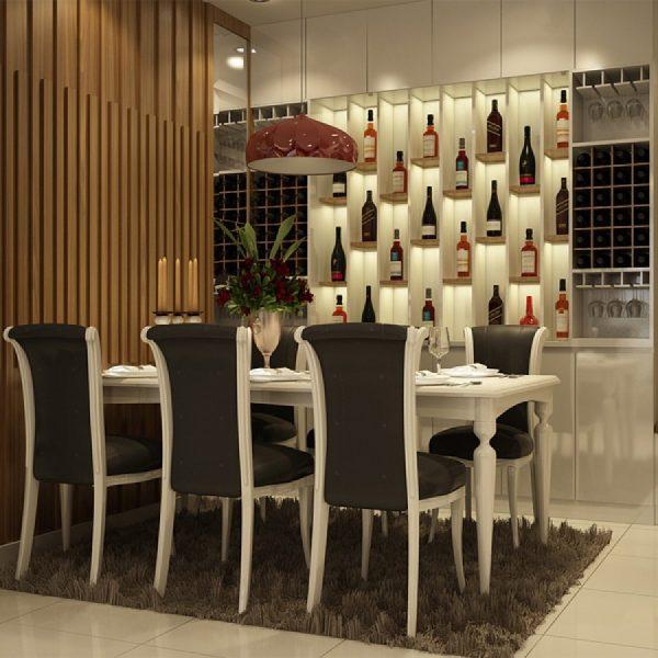 Tủ rượu treo tường- xu hướng thiết kế được ưa chuộng hiện nay