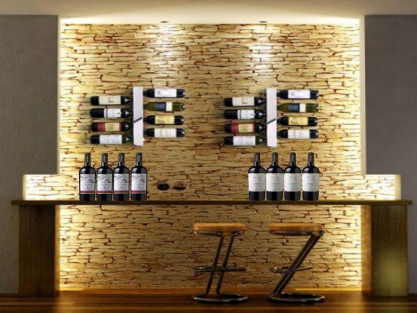 Ý tưởng thiết kế tủ rượu đẹp hiện đại cho nội thất chung cư cao cấp