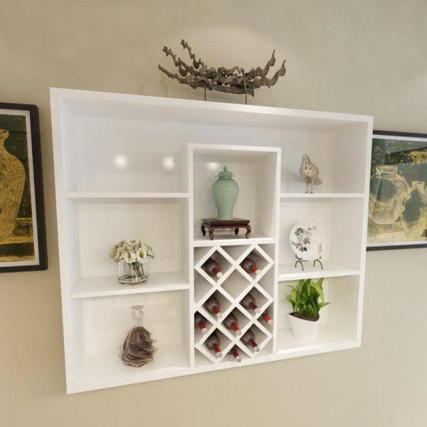 Ý tưởng thiết kế tủ rượu phòng khách có diện tích hẹp