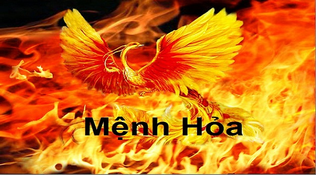 Người mệnh Hỏa tượng trưng cho lửa, nóng tính và cương trực
