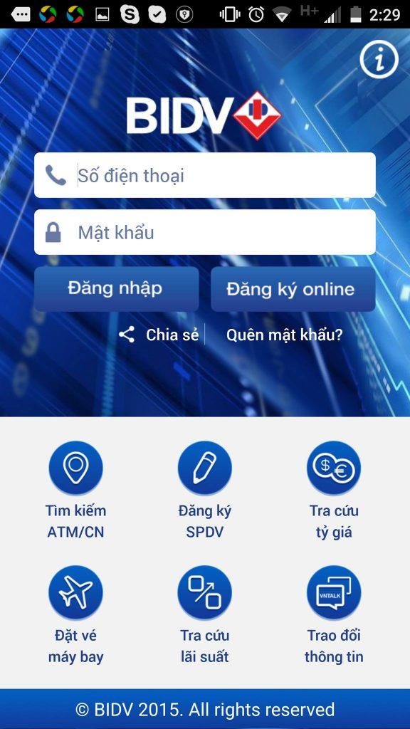 Hướng dẫn cách đăng ký internet banking bidv đơn giản nhất