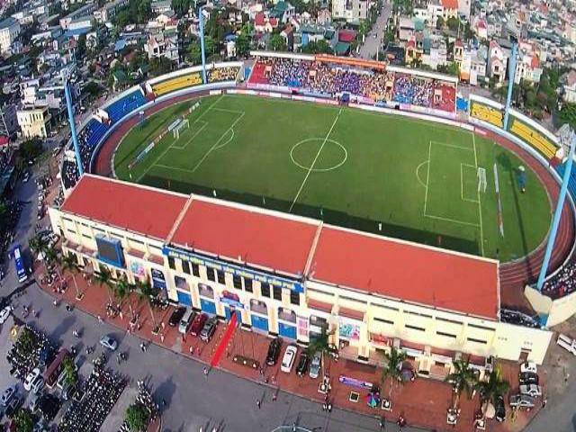 Hình ảnh sân vận động Cẩm Phả